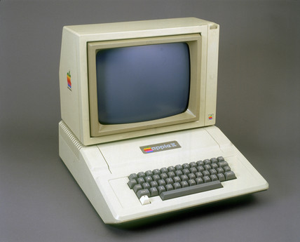 Apple II micro computer, 1977.