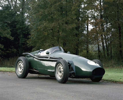 Connaught grand-prix racing car, 1955.