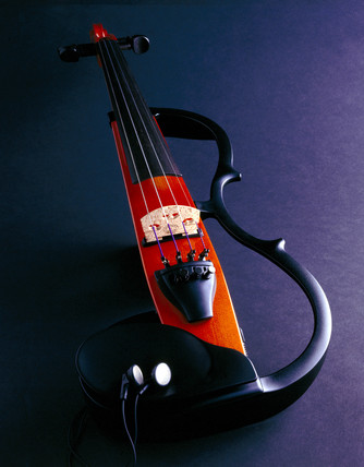 'Silent' electric violin, 1997-1999.