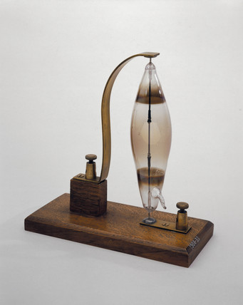 Swan's electric filament lamp, 1878-1879.