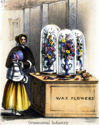 'Ornamental Industry', c 1845.