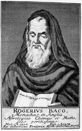 Roger Bacon, English philosopher and scientist, 13th century.