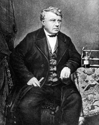Christian Friedrich Schonbein, German chemist, c 1840-1849.