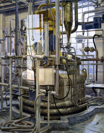 The production of insulin by fermentation, 1986.