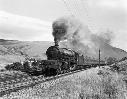 'The Princes Elizabeth', steam locomotive, c 1960.