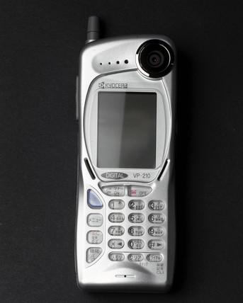 Kyocera visual phone VP-210, Japan, 1999  at Science and