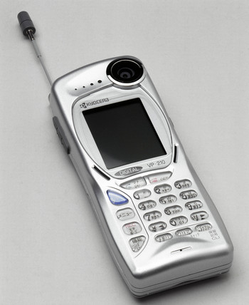 Kyocera visual phone VP-210, Japan, 1999.