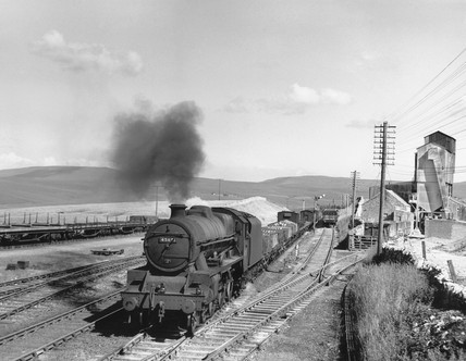 'Orion', steam locomotive c 1958. Jubilee c