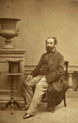 John Elliotson, British physician, c 1860s.