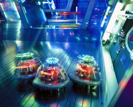 Robots in Digitopolis, Wellcome Wing, Science Museum, London, 2000.