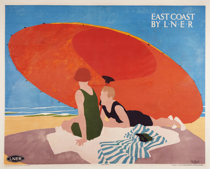 'East Coast by LNER', LNER poster, 1930s.