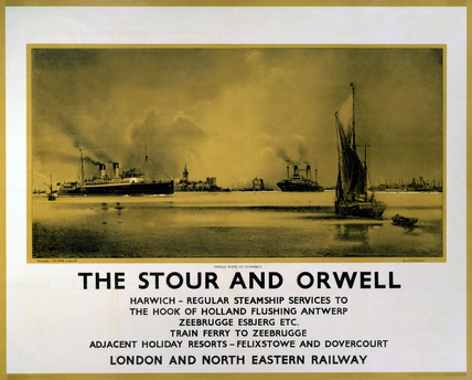 'The Stour and Orwell', LNER poster, c 1932.