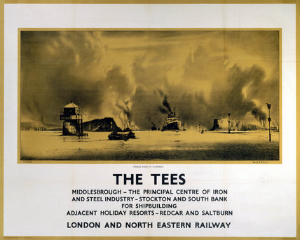 'The Tees', LNER poster, c 1932.