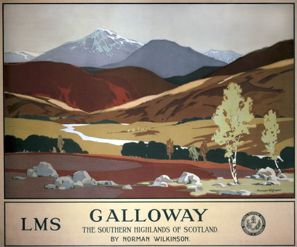 'Galloway', LMS poster, 1927.