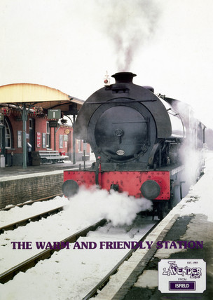The Lavender Line from Isfield, poster, c 1980s.