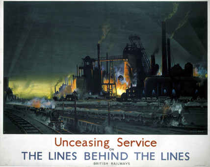 'The Lines behind the Lines', BR poster, 1939-1945.