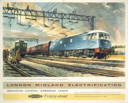 'London Midland Electrification', BR (LMR), 1961.