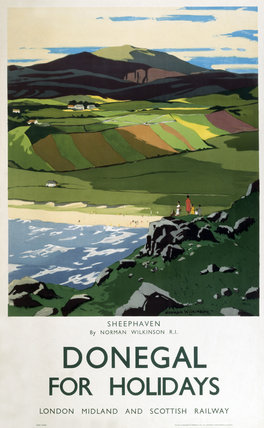 'Sheephaven', LMS poster, 1923-1947.