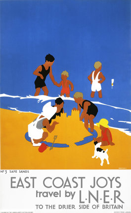 'East Coast Joys', LNER poster, 1932.