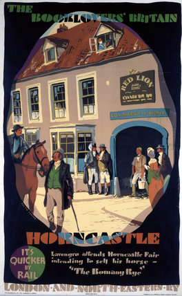 'The Booklovers' Britain: Horncastle', LNER poster, 1933.