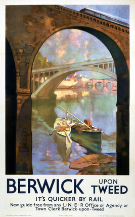 'Berwick-upon-Tweed', LNER poster, 1941.
