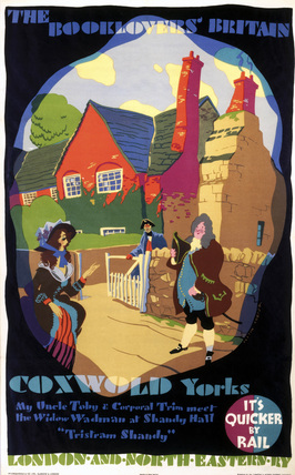'The Booklovers Britain - Coxwold, Yorkshire', LNER poster, 1933.