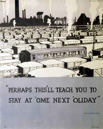 'Perhaps this'll teach you to stay at 'ome next 'oliday', poster, 1944.