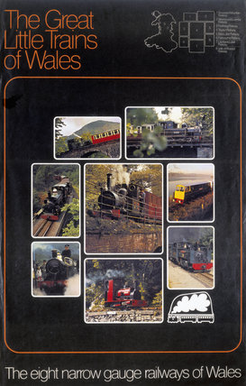 'The Great Little Trains of Wales', c 1970s.