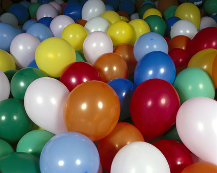 Balloons produced for the 'Energy Balloons' event, September 2000.