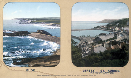 Bude, Cornwall, and St Aubins, Jersey, 1910s.