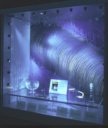 Stir weld update, Challenge of Materials Gallery, Science Museum, Nov 2000.