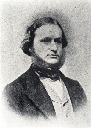 Gustav Kirchhoff, German physicist, c 1860s.