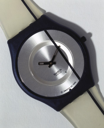 Swatch 'SKIN' analogue quartz wristwatch, 1998.