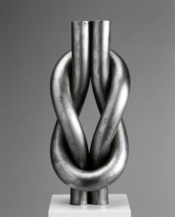 Knot of mild steel, 1885.