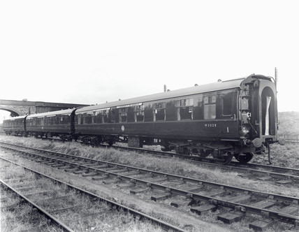 British Railways Mark I carriages, c 1960s.