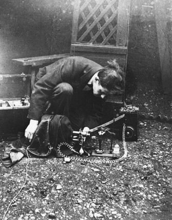 F Percy Smith, English scientific filmmaking pioneer, c 1910.