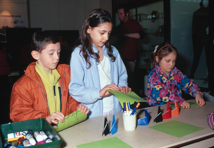'Pattern Parade', half term event for children, 2000.