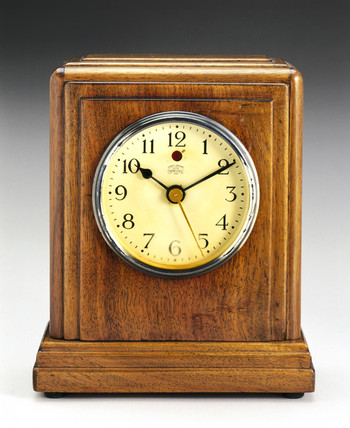 'Synclock' electric motor clock, 1931.