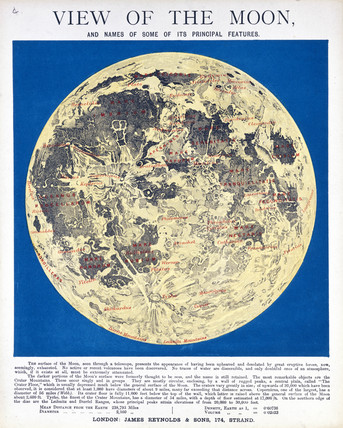 'View of the Moon', c 1850.