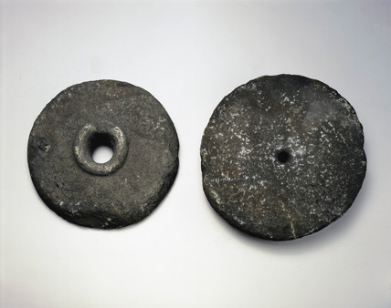 A pair of quern stones.
