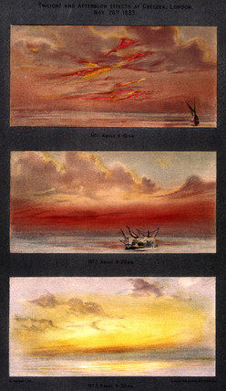 'Twilight and Afterglow Effects at Chelsea, 26 November 1883', 1888.