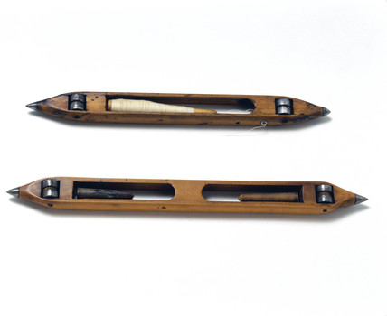 Two Kay shuttles, c 18th century.