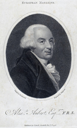 Alexander Aubert, English astronomer, 1798.