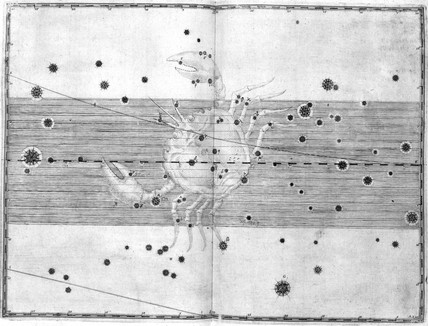 The constellation Cancer, 1603.