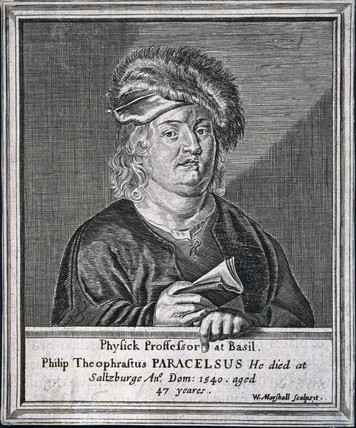 Paracelsus, Swis physician and alchemist, c 1530s.
