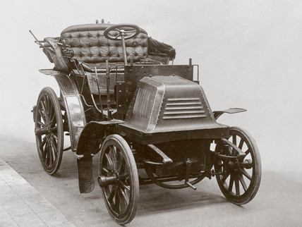 Early Panhard motor car, 1903.