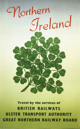'Northern Ireland', BR (LMR) poster, 1955.
