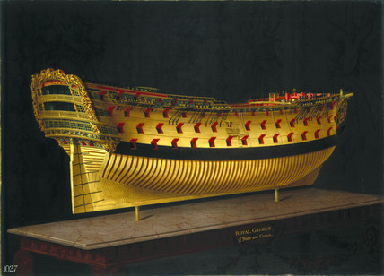 HMS 'Royal George', 1773-1775.