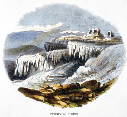 'Petrifying Springs', 1849.