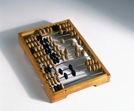 A stchoty, Rusian abacus, early 20th century.